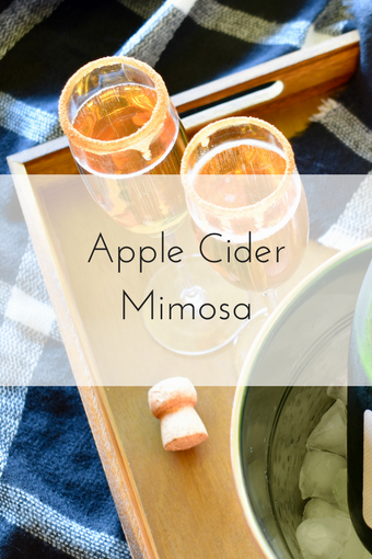 Apple Cider Mimosa Recipe | Champagne | Brunch | Tott's Champagne