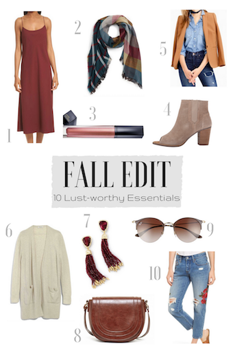 Fall Edit - Fall Fashion - Fashion Trends - Women's Fashion - Fashion Blogger - Fall Style - Style Inspiration - Wardrobe