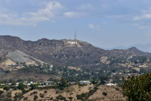 Hollywood sign, hollywood letters, los angeles, california