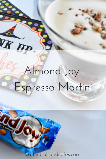 Almond Joy Espresso Martini -Cocktail Recipe - Candy cocktails - martini