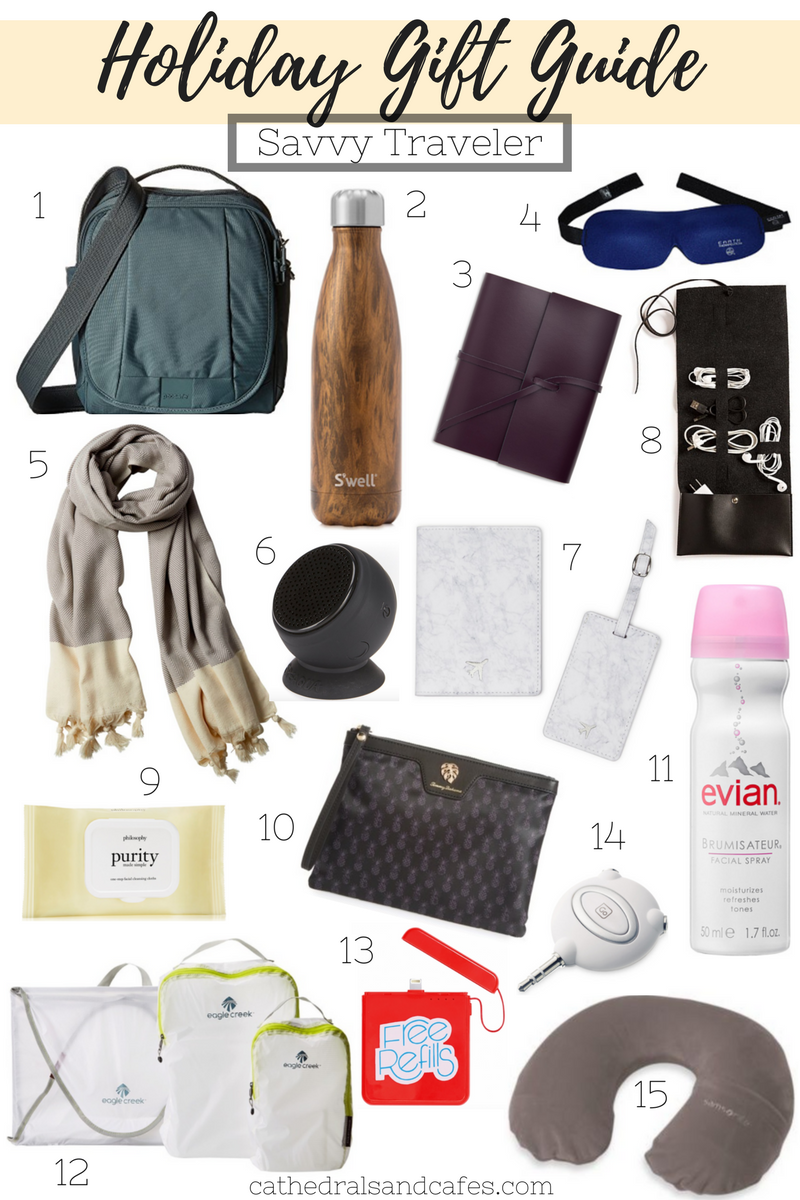 Holiday Gift Guide_ Savvy Traveler _Cathedrals and Cafes Blog _ Gifts _ Gifts for Travelers _ Christmas _ Gift Guide