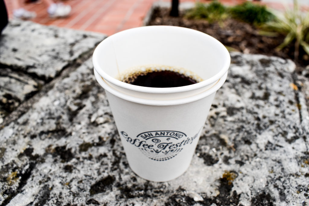 Coffee Flights at San Antonio Coffee Festival | Cathedrals and Cafes Blog
