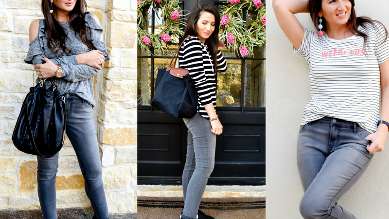 57bdfda620c798 3 Ways to Wear Your Grey Jeans