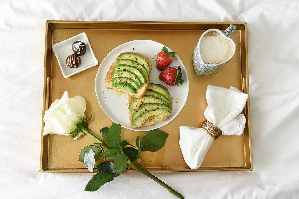 Avocado Toast Breakfast in Bed from www.berries.com