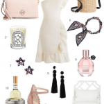 April Edit _ Garden Party Style _ Spring Fashion _ Summer Dresses _ Straw Bag _ Ruffle Dress _ Suede Kate Spade Heels _ Cathedrals and Cafes Blog