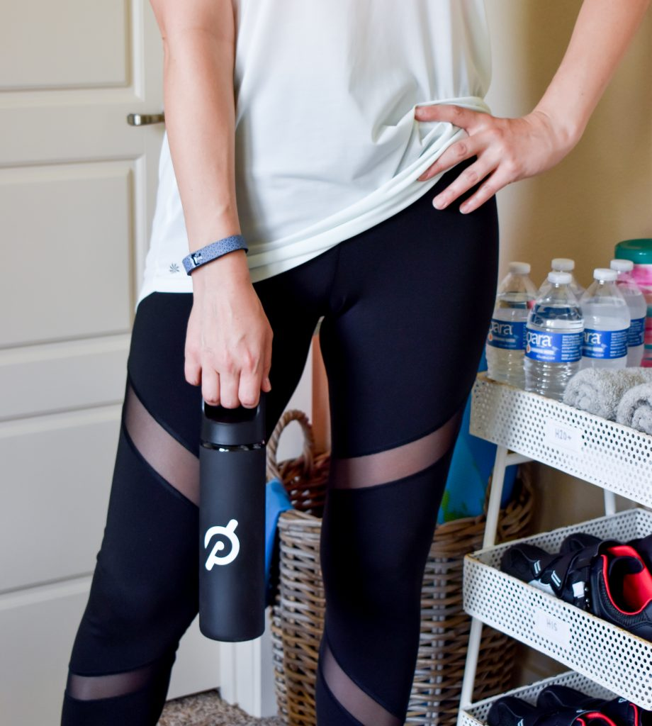 How to Create an Easy Guest Bedroom Spin Station | Peloton Accessories Organization | Home Gym | Cathedrals and Cafes Blog