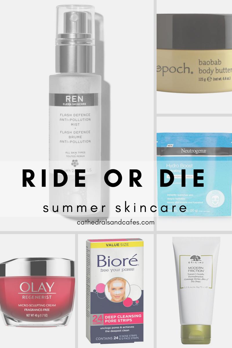 6 Skincare Essentials for Summer Collage