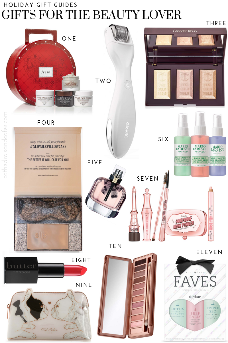 Beauty Gift Guide | Holiday Gift Ideas | CathedralsandCafes.com