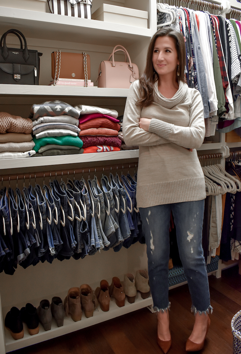 My Closet Tour and Tips for Keeping an Organized and Beautiful Wardrobe