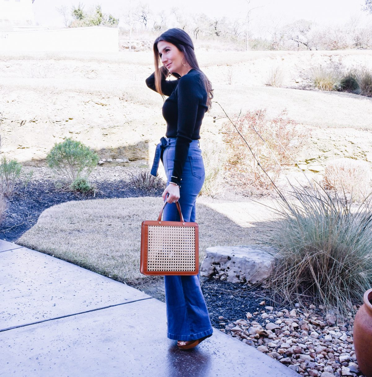 How to Wear Bell Bottom Jeans